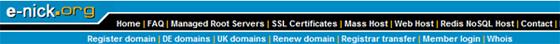 Регистрация на домейн, хостинг