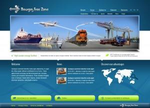 Уеб дизайн Бургас. Интернет сайт на Безмитна зона
